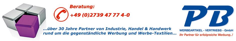 PB Werbeartikel-Vertriebs-GmbH - Ihr Partner für erfolgreiche Werbung
